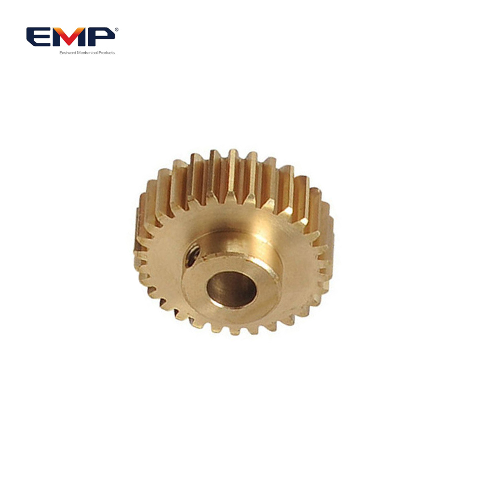 Custom Made OEM Forging Custom Brass Spur Gear By Drawing